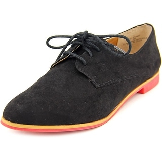 American Rag Stanny Women Round Toe Synthetic Black Oxford