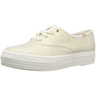 Keds Womens Triple Metallic Low Top Lace Up Fashion Sneakers (4 options available)