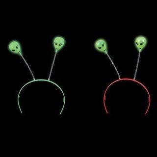 Glow-in-the-Dark Alien Head Boppers (1 dz)
