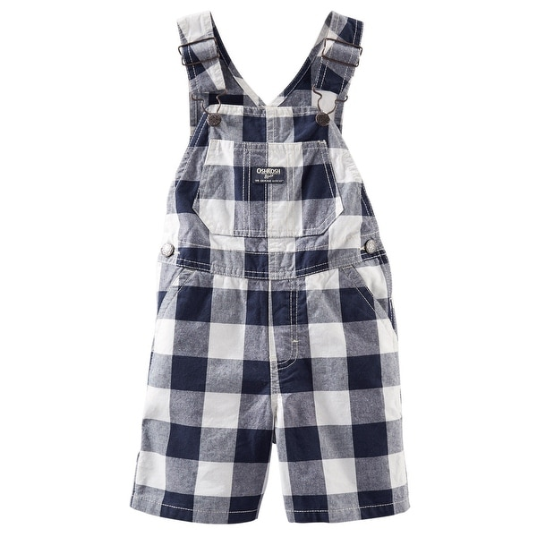 3c47b01eae34ae Shop Oshkosh Baby Boys' Buffalo Check Overalls - Size 12-18 Months - Free  Shipping On Orders Over $45 - Overstock - 26858063