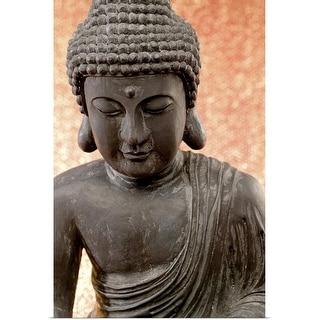"""Buddha statue"" Poster Print"