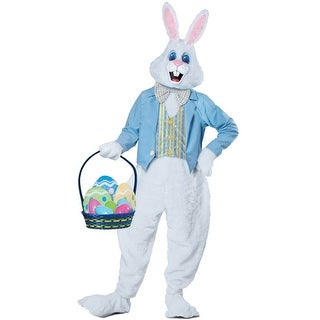 California Costumes Deluxe Easter Bunny Adult Costume - White (2 options available)