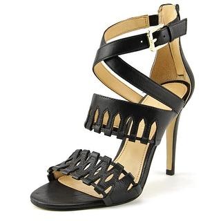 Ivanka Trump Drita Open Toe Leather Sandals