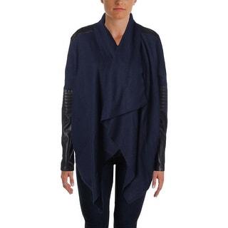 [BLANKNYC] Womens Wool Open Front Casual Blazer