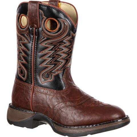 LIL' DURANGO® Little Kid Saddle Western Boot, BT200