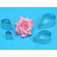 Rose Flower - Metal Cutters 4/Pkg