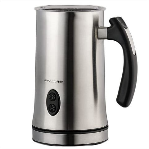 Ovente Electric Double Wall Insulated Milk Frother, Silver FR4810BR
