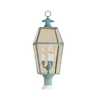"Norwell Lighting 1068 Old Colony 3 Light 30"" Tall Outdoor Post Light with Clear Glass Shade (2 options available)"