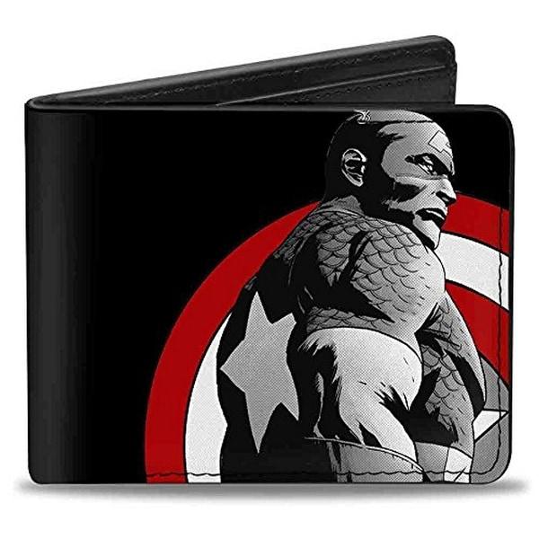 Buckle-Down Bifold Wallet Captain America