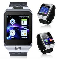 Indigi® iOS or Android Bluetooth Sync SmartWatch + Phone w/ Built-In Camera + Notifications + Pedometer