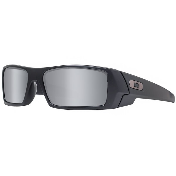 b9d3983e340 Oakley Gascan OO9014 12-856 Matte Black Polarized Ice Iridium Sport  Sunglasses - MATTE BLACK