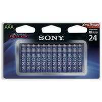 Sony S-Am4B24A Stamina(R) Plus Alkaline Batteries (Aaa; 24 Pk)