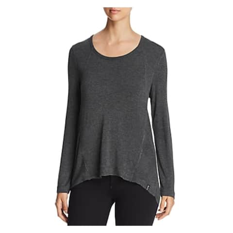 Marc New York by Andrew Marc Womens Pullover Top Yoga Fitness