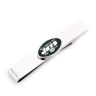 New York Jets Tie Bar - Silver