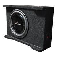 "Audiopipe single 10"" Shallow Mount Downfire Loaded Enclosure 400 Watts"