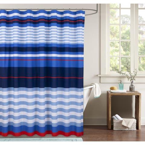 Harbor Stripe Shower Curtain