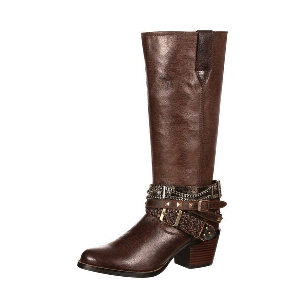 Durango Western Boots Womens Philly Accessorized Straps Brown