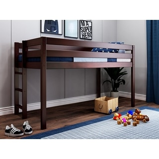 Link to JACKPOT Contemporary Low Loft Twin Bed with Ladder Similar Items in Kids' & Toddler Furniture