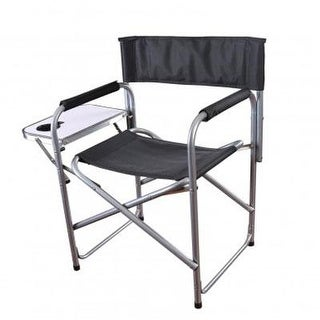 Stansport G-409 Folding Director's Chair With Side Table