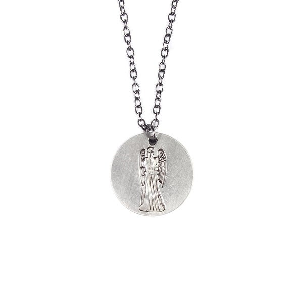 Doctor Who Don't Blink Weeping Angels Pendant Necklace