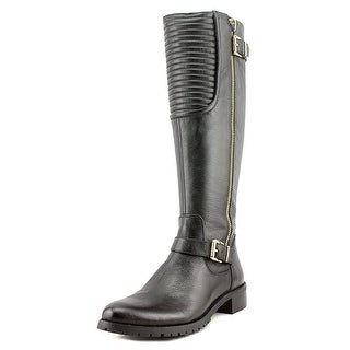 Vince Camuto Jamina Leather Motorcycle Boot