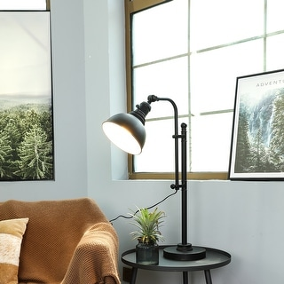 """Link to CO-Z 28"""" Rustic Adjustable Desk Lamp in Aged Bronze Finish Similar Items in Desk Lamps"""