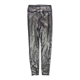 Joe's Women's Mid-rise Metallic Coated Legging Pants - Gold - XXS