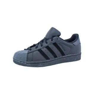Adidas Superstar Ray Black Casual Shoes Big Kid Classic - 7 medium (d) big kid