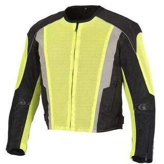 Men Motorcycle Textile Mesh Race Jacket CE Protection MBJ054-1