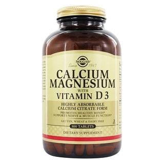 Solgar - Calcium Magnesium with Vitamin D3 Tablets  - 300