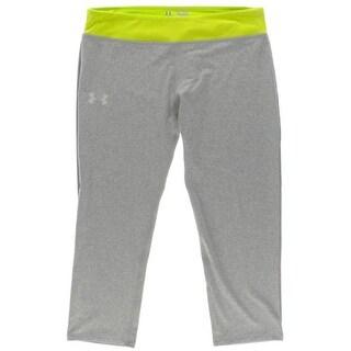 Under Armour Girls Stretch Contrast Trim Capri Pants - XL