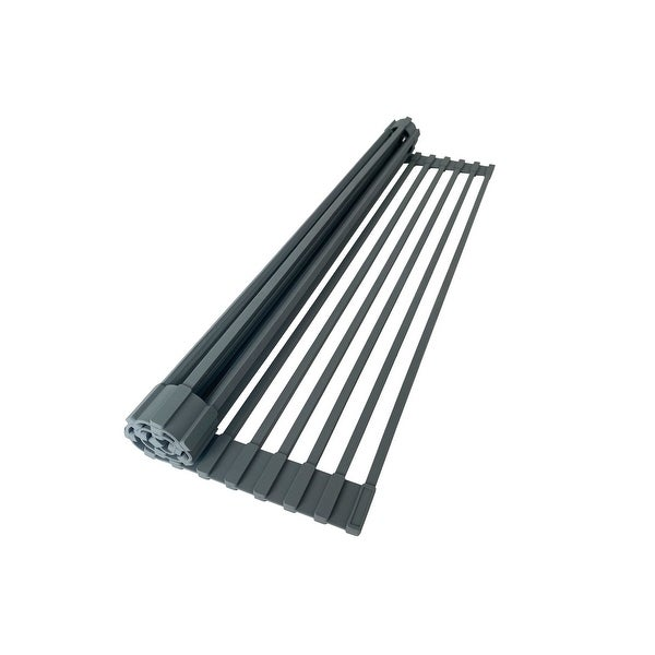 Workstation Roll-Up Dish Drying Rack - Dark Grey. Opens flyout.