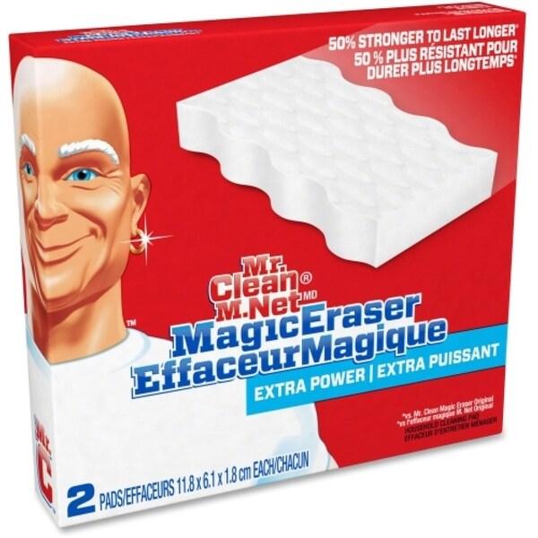 Mr. Clean Extra Power Magic Eraser, 2 ea