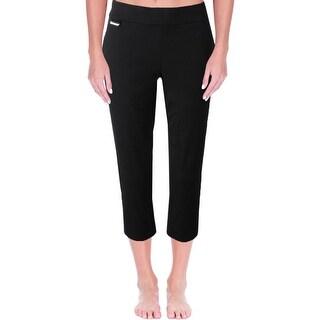 Lauren Ralph Lauren Womens Capri Pants Comfort Waist Active