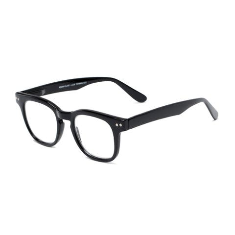 Readers.com The Hopper Retro Square Reading Glasses