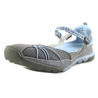 Jambu Womens IrisVegan Closed Toe Casual Sport GreyStone Blue Size 110