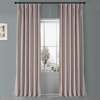Link to Exclusive Fabrics Heritage Plush Velvet Single Curtain Panel Similar Items in As Is