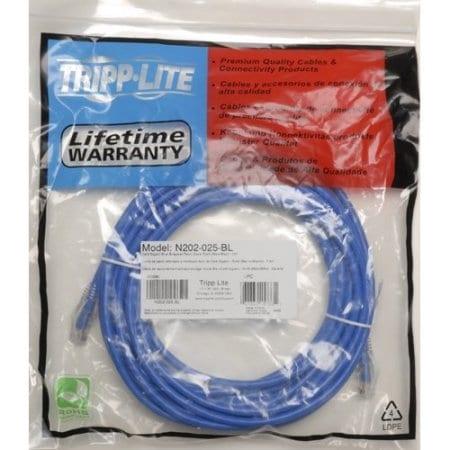 Tripp Lite - 50Ft Cat6 Gigabit Solid Conductor Snagless Patch Cable Rj45 M/M Blue