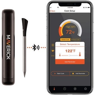 Link to Maverick STAKE Truly Wireless Bluetooth App Enabled Probe Thermometer Similar Items in Cooking Essentials