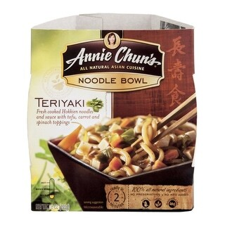 Annie Chun's - Teriyaki Noodles Bowl ( 6 - 7.8 oz boxes)
