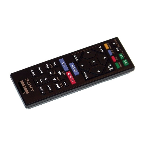 OEM Sony Remote Control Originally Supplied With: BDPBX620, BDP-BX620, BDPS1200, BDP-S1200, BDPS2100, BDP-S2100