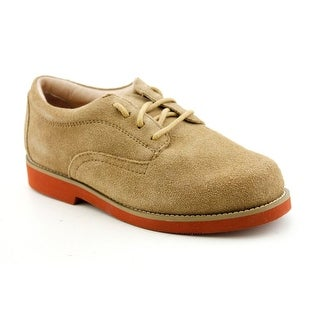 Jumping Jacks Buck Youth N Round Toe Suede Tan Oxford