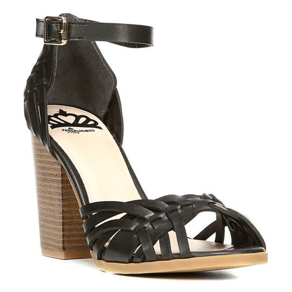Fergalicious Womens Ventura Peep Toe Ankle Strap D-orsay Pumps