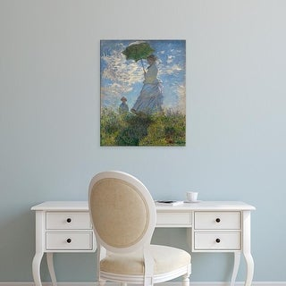 Easy Art Prints 's 'Woman with a parasol