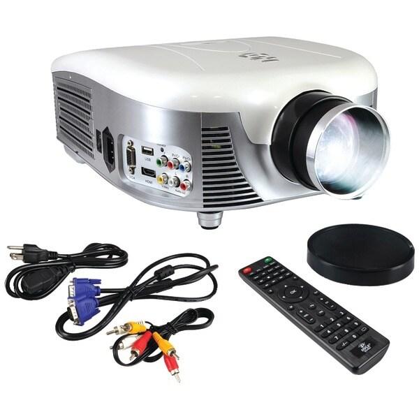 PYLE HOME PRJD907 Widescreen 1080p 2,000-Lumen Digital Multimedia LED Projector