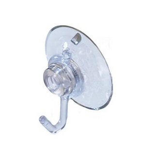 Pack of 2 Large Suction Cup Hooks for Hanging Christmas Decorations