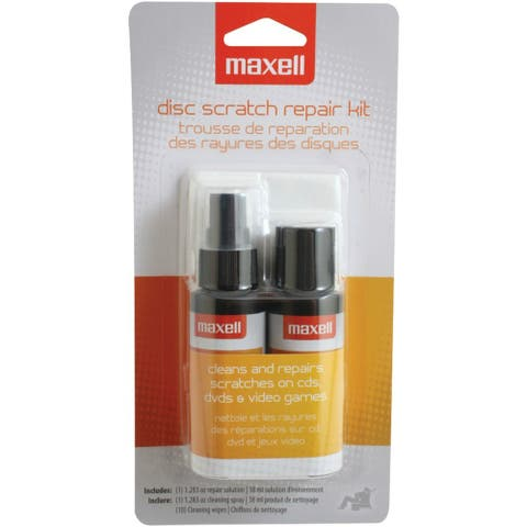Maxell MXLCD335B MAXELL 190041 CD/CD-ROM Scratch & Repair Kit - Black