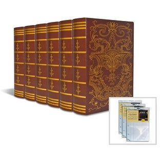 Old World Imperial Book Box 6-Pack with 3 Insert Sheets
