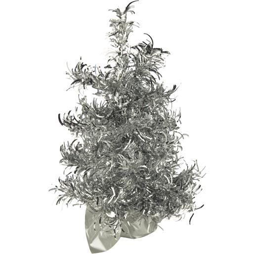 "Gerson/Yantian 12"" Silver Curly Tree 6003-12SL Unit: EACH"
