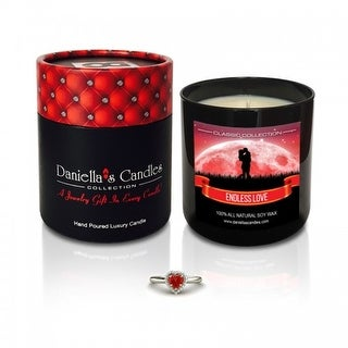Endless Love Jewelry Candle - Earrings